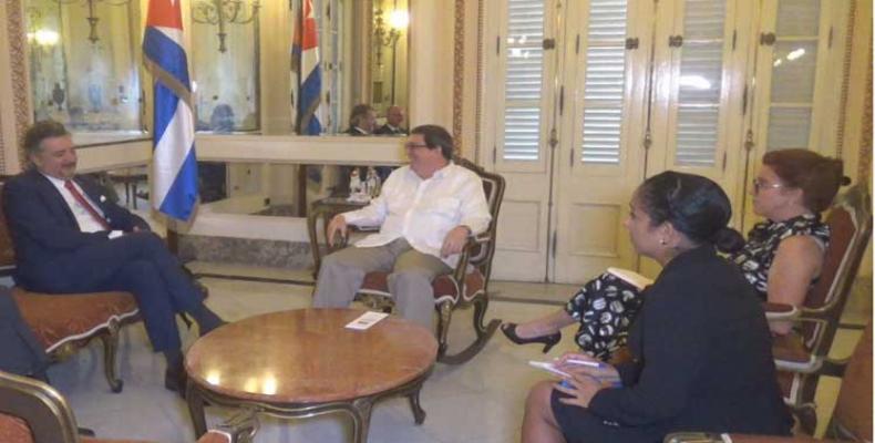 Ambas partes coincidieron en destacar con satisfacción el avance de las relaciones bilaterales. Foto: PL