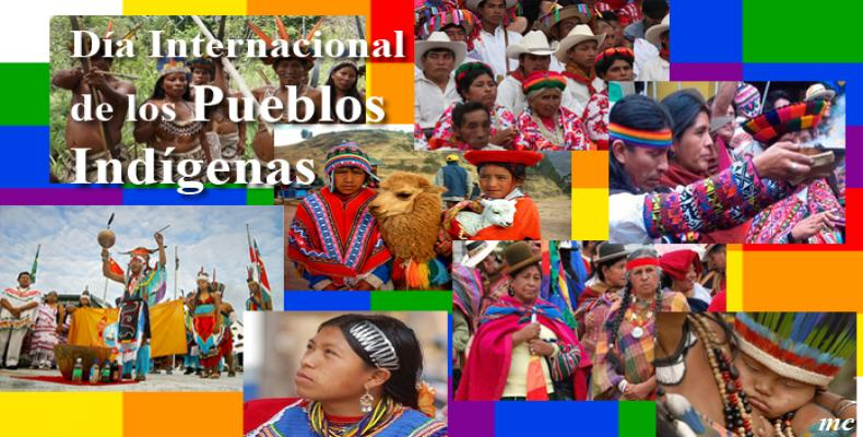 Día Internacional de los Pueblos Indígenas. foto: María Calvo