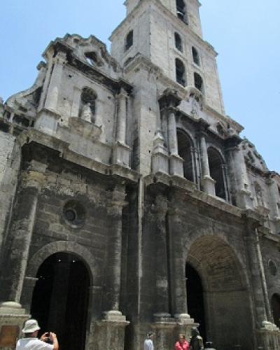 La katedralo de Havano. foto: M.Gutiérrez