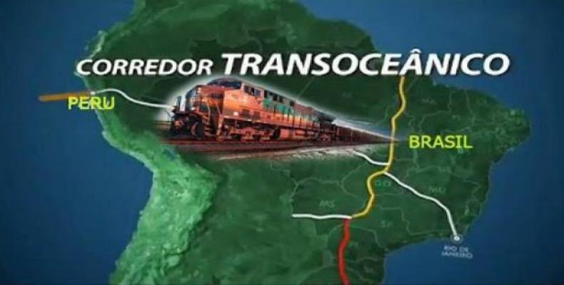 El proyecto uniría el puerto de Santos, en Brasil, ubicado en el Atlántico, con el de Ilo, en Perú, en el Pacífico, pasando por Bolivia (bethelradio.fm)