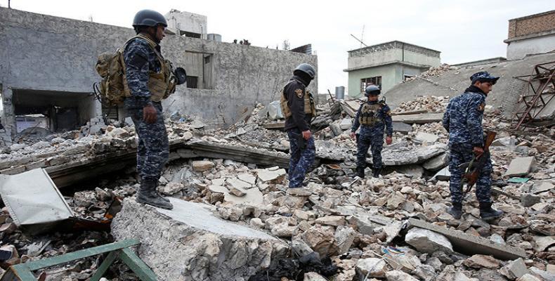 Tropas iraquíes lanzaron este domingo un importante asalto para recuperar la Ciudad Vieja de Mosul
