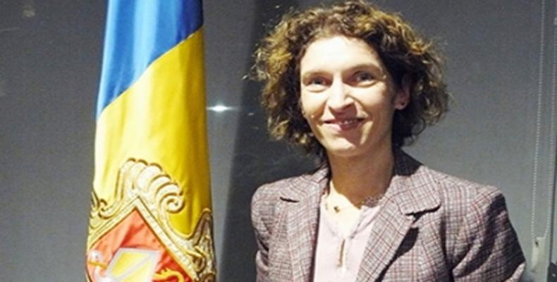 The Minister of Foreign Affairs of the Principality of Andorra, Maria Ubach Font.