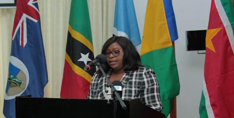 Guyana's Foreign Minister, Karen Cummings. (PL photo)
