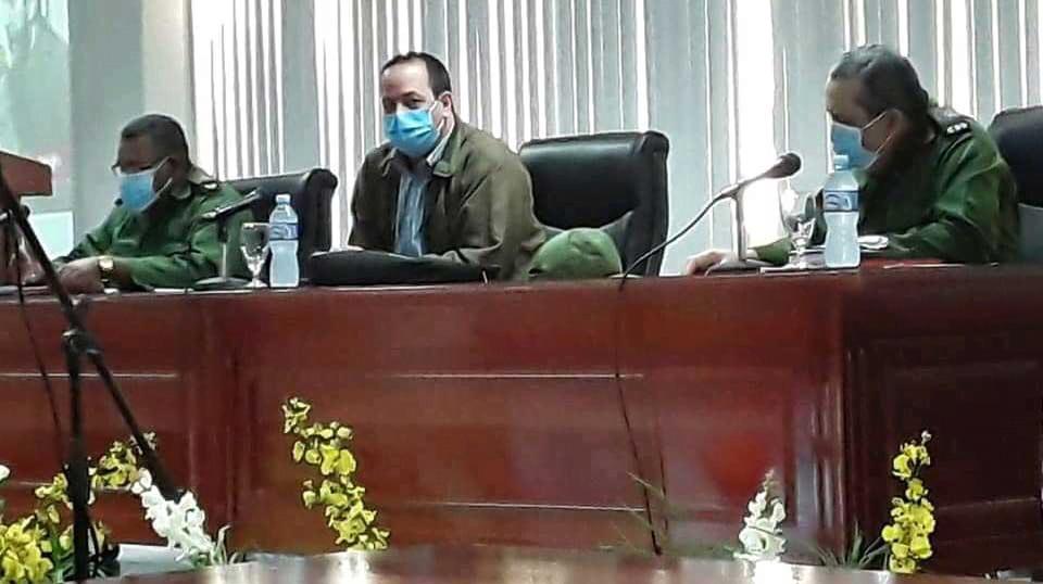 Le ministre de la Santé vérifie la situation épidémiologique à Guantanamo