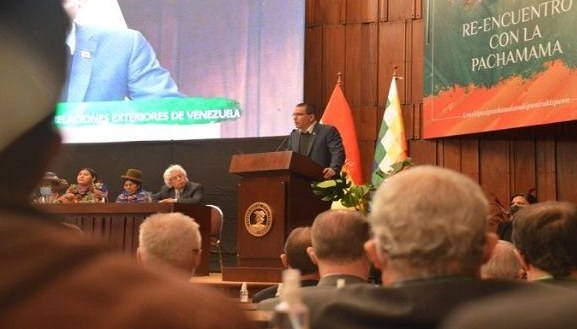 Jorge Arreaza : Le système capitaliste ne garantit pas les objectifs que l'humanité a devant elle