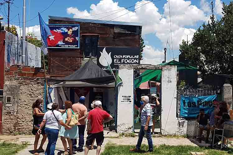 Inauguration à Buenos Aires d'une nouvelle Maison de l'amitié avec Cuba