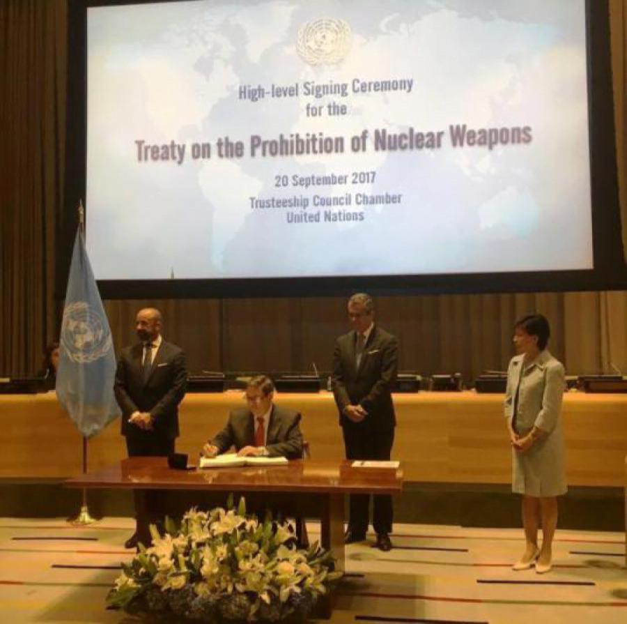 Cuba réaffirme son engagement en faveur d'un désarmement nucléaire général et complet
