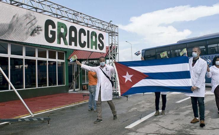 Miguel Díaz-Canel souligne le travail réalisé par la brigade médicale Henry Reeve en Dominique