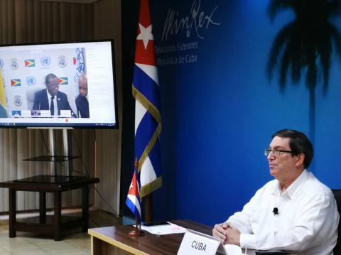 Cuba confirme son engagement envers le Groupe des 77 plus la Chine