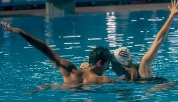 Exitoso debut de la natación artística varonil cubana