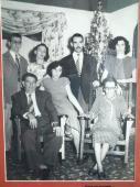Familia Santamaría Cuadrado. Foto: Jessica Arroyo Malvarez/RHC De izquierda a derecha Abel Santamaría, Benigno Santamaría, Haydeé Santamaría, Adita Santamaría, Aldo Santamaría, Aida Santamaría y Juaquina Cuadrado.
