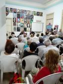 Imagen: En el espacio Catalejo de la Unión de Periodistas de Cuba. Foto:Lorena Viñas Rodríguez