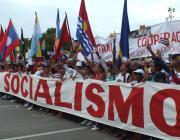 Celebración del Primero de Mayo en Cuba