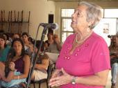 Susana del Calvo , periodista de Radio Habana Cuba