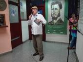 Periodista de Radio Habana Cuba, Pedro Martínez Pírez.