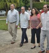 La delegación chilena que visita Cuba hasta el próximo domingo está integrada además por el jefe de Relaciones Internaciones del PS, Carlos Parker y la diputada Maya Fernández