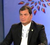 Presidente de Ecuador , Rafael Correa