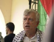 Palestinos en Cuba exigen retirada de Israel de Gaza