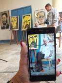 Radio Habana Cuba presentó este viernes en La Habana su Calendario de bolsillo 2018. En esta ocasión  ilustrado con el retrato que el pintor ecuatoriano Oswaldo Guayasamín hizo en La Habana a José Ramón Fernández, presidente del Comité Olímpico Cubano, en el 35 aniversario de la victoria cubana en Playa Girón.