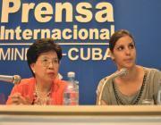 Margaret Chan en Cuba