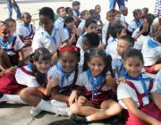 Alumnos cubanos ingresan a Organización de Pioneros José Martí (OPJM)